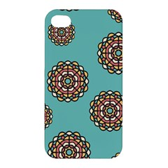 Circle Vector Background Abstract Apple Iphone 4/4s Premium Hardshell Case by Nexatart
