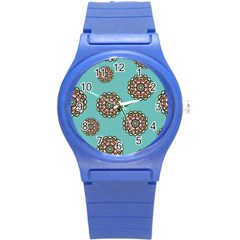 Circle Vector Background Abstract Round Plastic Sport Watch (s) by Nexatart