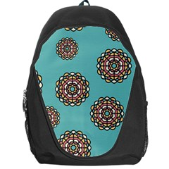 Circle Vector Background Abstract Backpack Bag