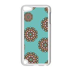 Circle Vector Background Abstract Apple Ipod Touch 5 Case (white)