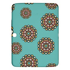 Circle Vector Background Abstract Samsung Galaxy Tab 3 (10 1 ) P5200 Hardshell Case  by Nexatart