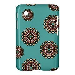 Circle Vector Background Abstract Samsung Galaxy Tab 2 (7 ) P3100 Hardshell Case  by Nexatart