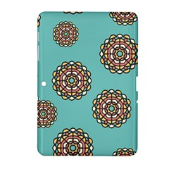 Circle Vector Background Abstract Samsung Galaxy Tab 2 (10 1 ) P5100 Hardshell Case