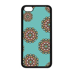 Circle Vector Background Abstract Apple Iphone 5c Seamless Case (black) by Nexatart