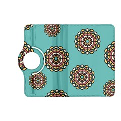 Circle Vector Background Abstract Kindle Fire Hd (2013) Flip 360 Case by Nexatart