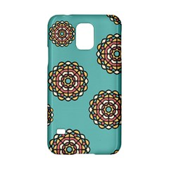 Circle Vector Background Abstract Samsung Galaxy S5 Hardshell Case