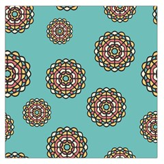 Circle Vector Background Abstract Large Satin Scarf (square) by Nexatart