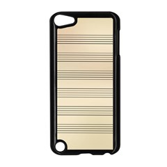 Notenblatt Paper Music Old Yellow Apple Ipod Touch 5 Case (black) by Nexatart
