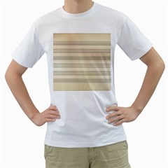 Notenblatt Paper Music Old Yellow Men s T Shirt (white)