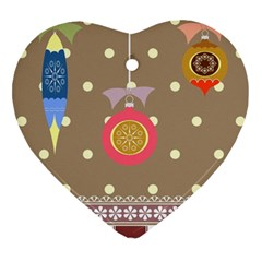 Art Background Background Vector Heart Ornament (two Sides)