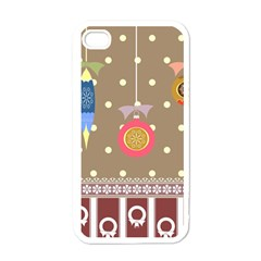 Art Background Background Vector Apple Iphone 4 Case (white)