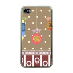Art Background Background Vector Apple Iphone 4 Case (clear)