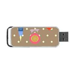 Art Background Background Vector Portable Usb Flash (one Side) by Nexatart