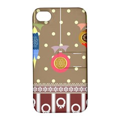 Art Background Background Vector Apple Iphone 4/4s Hardshell Case With Stand by Nexatart