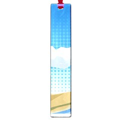 Grid Sky Course Texture Sun Large Book Marks by Nexatart