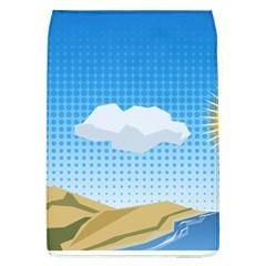 Grid Sky Course Texture Sun Flap Covers (l)