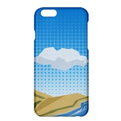 Grid Sky Course Texture Sun Apple Iphone 6 Plus/6s Plus Hardshell Case by Nexatart
