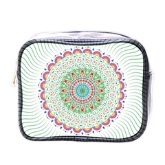 Flower Abstract Floral Mini Toiletries Bags