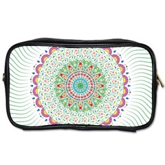 Flower Abstract Floral Toiletries Bags