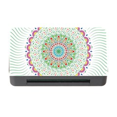 Flower Abstract Floral Memory Card Reader With Cf by Nexatart