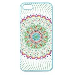 Flower Abstract Floral Apple Seamless Iphone 5 Case (color)