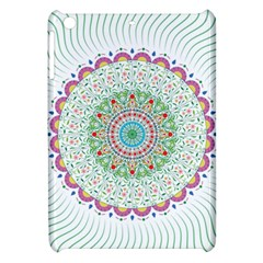 Flower Abstract Floral Apple Ipad Mini Hardshell Case