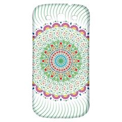 Flower Abstract Floral Samsung Galaxy S3 S Iii Classic Hardshell Back Case by Nexatart