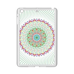 Flower Abstract Floral Ipad Mini 2 Enamel Coated Cases by Nexatart