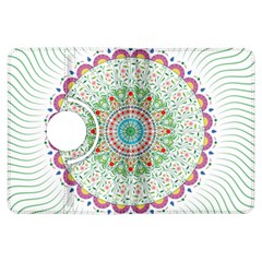 Flower Abstract Floral Kindle Fire Hdx Flip 360 Case by Nexatart