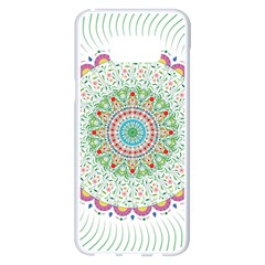 Flower Abstract Floral Samsung Galaxy S8 Plus White Seamless Case