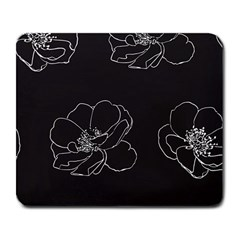 Rose Wild Seamless Pattern Flower Large Mousepads by Nexatart