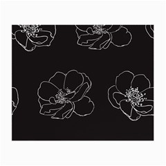 Rose Wild Seamless Pattern Flower Small Glasses Cloth