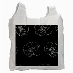 Rose Wild Seamless Pattern Flower Recycle Bag (one Side)
