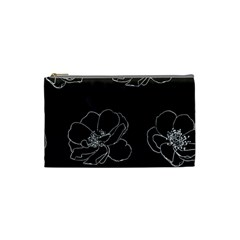 Rose Wild Seamless Pattern Flower Cosmetic Bag (small)  by Nexatart
