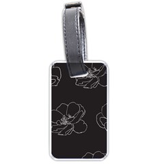 Rose Wild Seamless Pattern Flower Luggage Tags (two Sides) by Nexatart