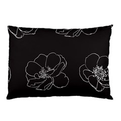 Rose Wild Seamless Pattern Flower Pillow Case (two Sides)