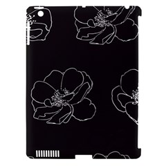 Rose Wild Seamless Pattern Flower Apple Ipad 3/4 Hardshell Case (compatible With Smart Cover)