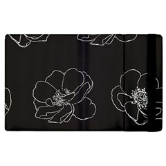 Rose Wild Seamless Pattern Flower Apple Ipad 2 Flip Case by Nexatart