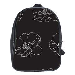 Rose Wild Seamless Pattern Flower School Bags (xl)  by Nexatart