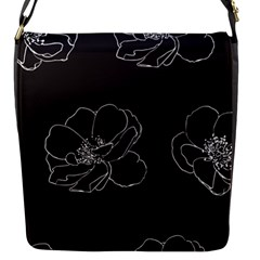 Rose Wild Seamless Pattern Flower Flap Messenger Bag (s) by Nexatart
