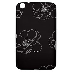 Rose Wild Seamless Pattern Flower Samsung Galaxy Tab 3 (8 ) T3100 Hardshell Case  by Nexatart