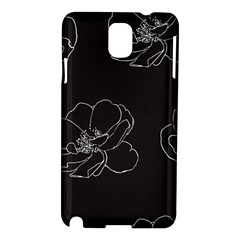 Rose Wild Seamless Pattern Flower Samsung Galaxy Note 3 N9005 Hardshell Case