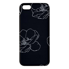 Rose Wild Seamless Pattern Flower Iphone 5s/ Se Premium Hardshell Case