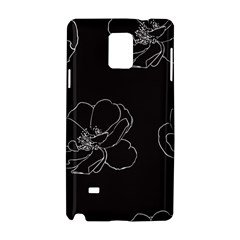 Rose Wild Seamless Pattern Flower Samsung Galaxy Note 4 Hardshell Case by Nexatart