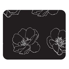 Rose Wild Seamless Pattern Flower Double Sided Flano Blanket (large)
