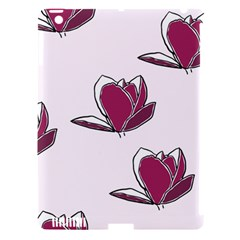 Magnolia Seamless Pattern Flower Apple Ipad 3/4 Hardshell Case (compatible With Smart Cover) by Nexatart