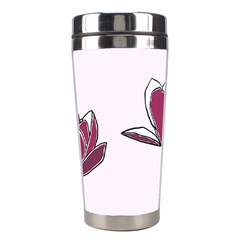 Magnolia Seamless Pattern Flower Stainless Steel Travel Tumblers by Nexatart