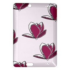 Magnolia Seamless Pattern Flower Amazon Kindle Fire Hd (2013) Hardshell Case by Nexatart