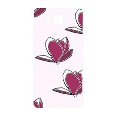 Magnolia Seamless Pattern Flower Samsung Galaxy Alpha Hardshell Back Case by Nexatart