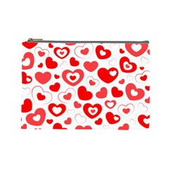 Cards Ornament Design Element Gala Cosmetic Bag (large)